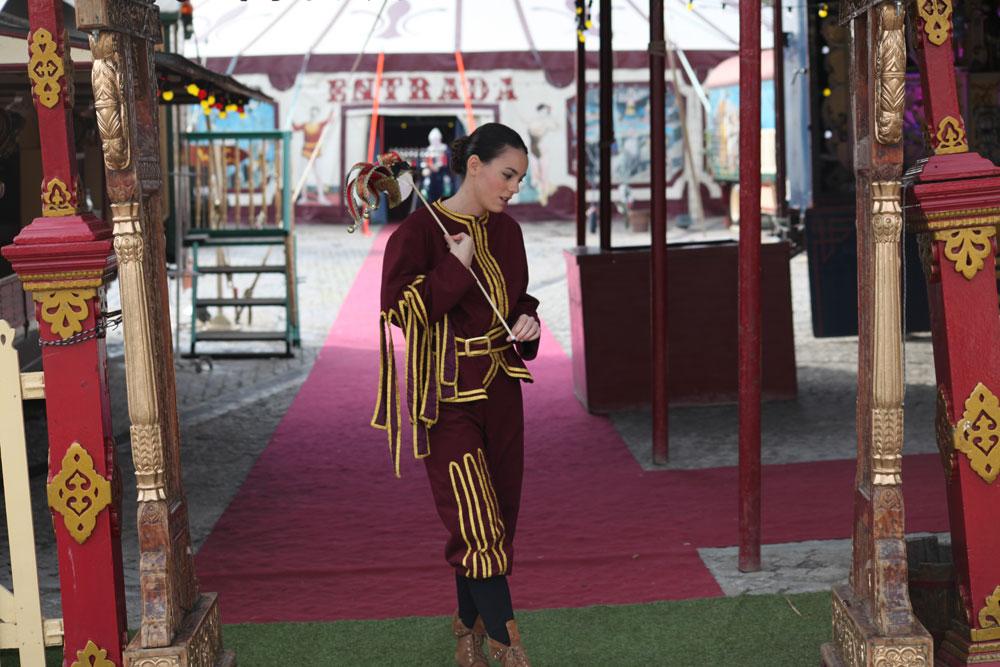 Wax. Vicky Luengo en el Circo Raluy