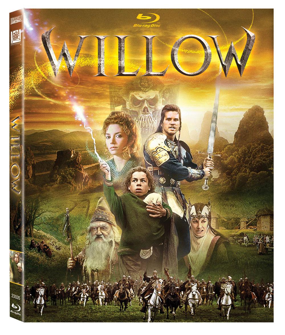 Caratula Willow Blu-Ray HD