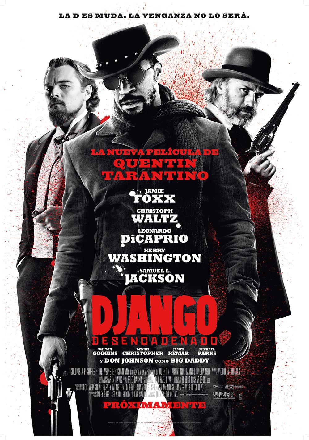 Django desencadenado. cartel español