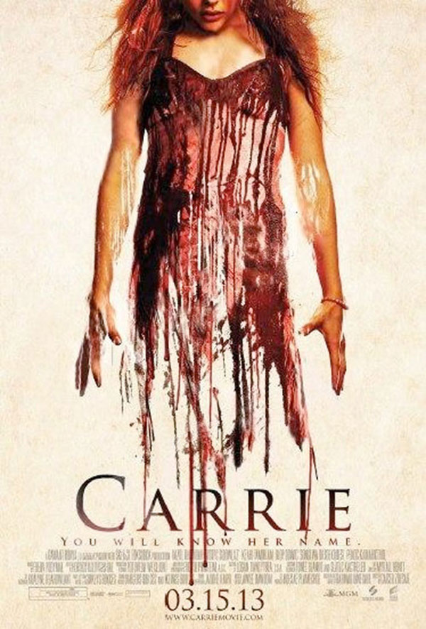 Carrie delayed poster