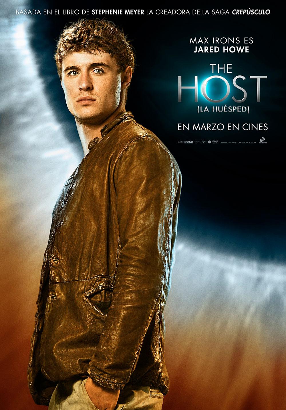 The Host. Poster de Max Irons como Jared