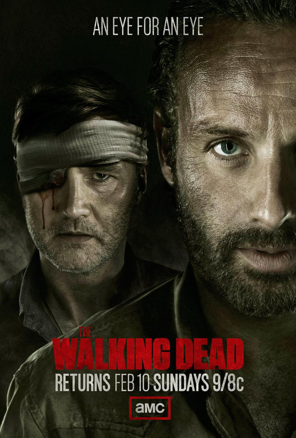 The Walking Dead. Poster season 3. T3