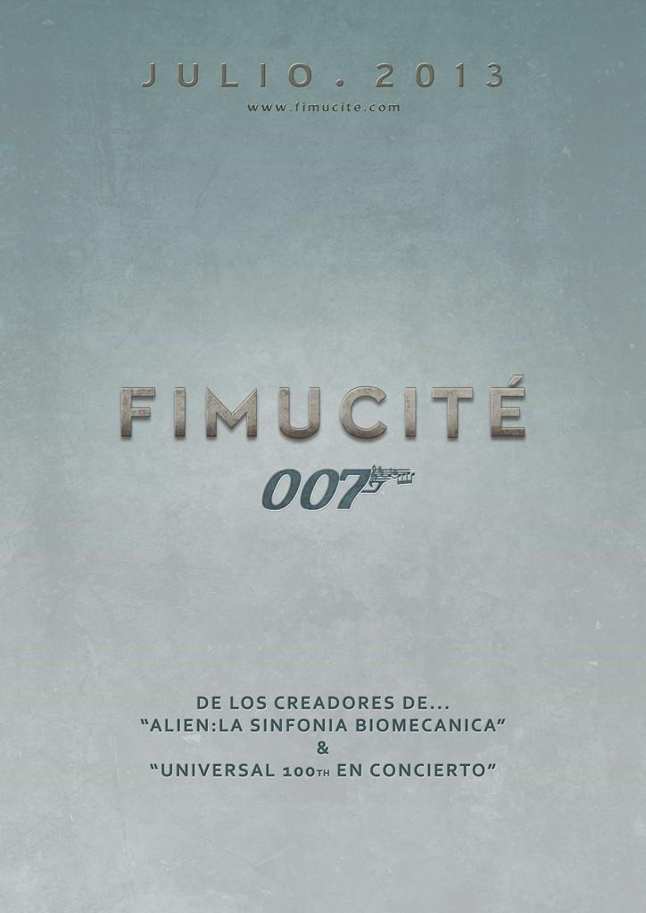 Fimucité 007 Cartel teaser