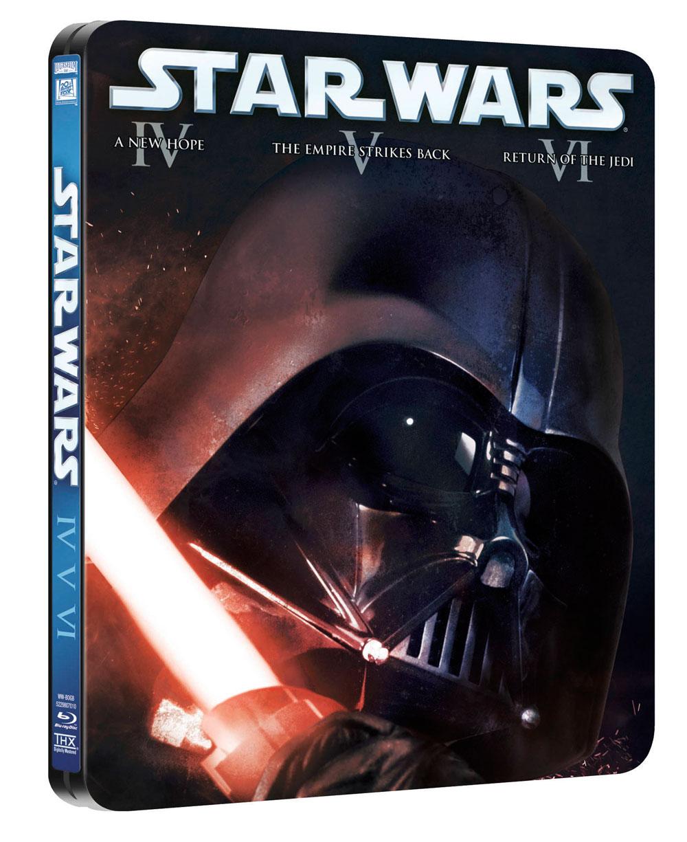 Trilogía Star Wars Steelbook BD
