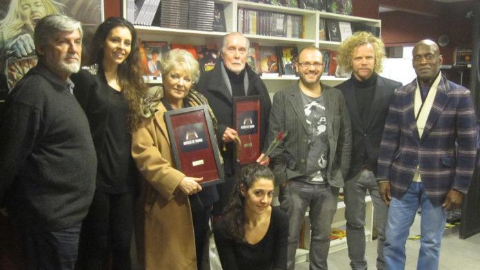 Lone Fleming y Jack Taylor butacas de honor en Artistic Metropol de Madrid