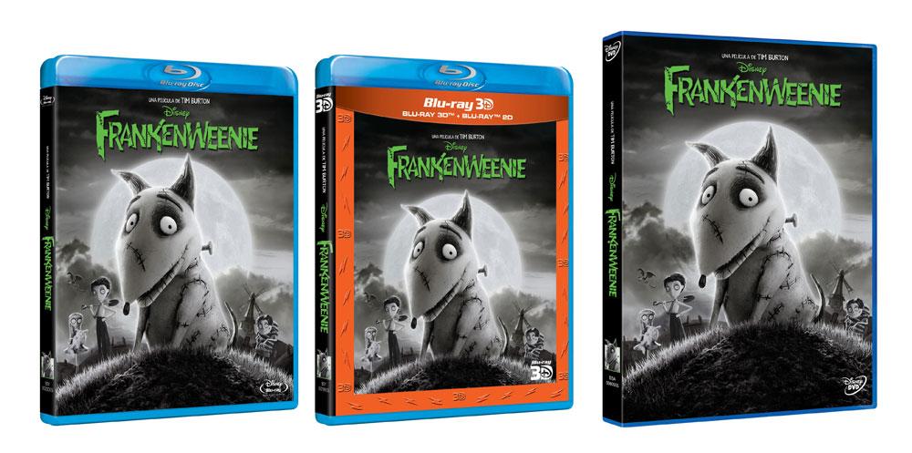 Ediciones domésticas de Frankenweenie