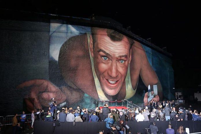 Mural La Jungla de Cristal. Die Hard