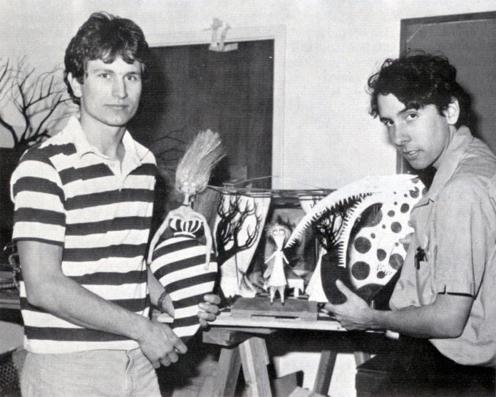 Rick Heinrichs y Tim Burton Pesadilla antes de Navidad