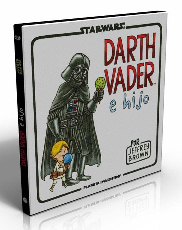Portada Darth Vader e hijo.