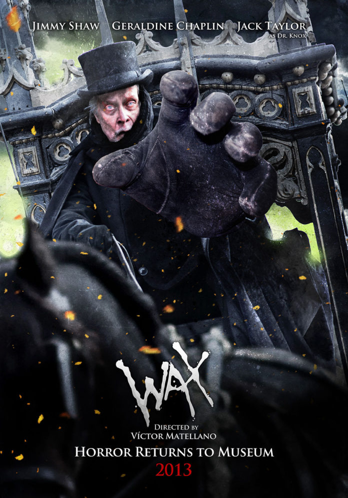 WAX Poster con Jimmy Shaw, Jack Taylor y Geraldine Chaplin