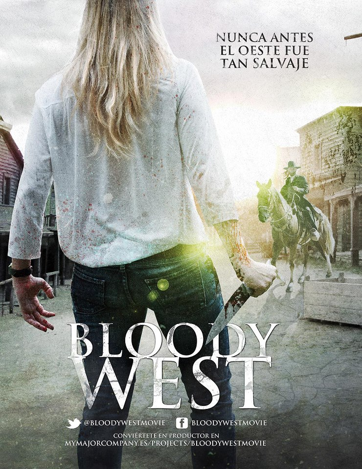 Bloody West. poster
