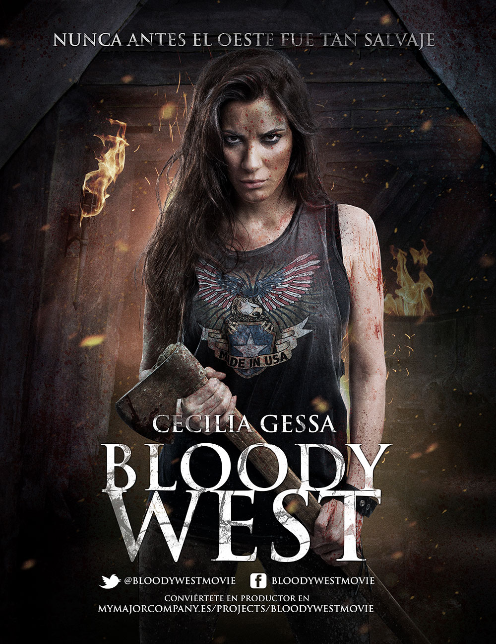 Bloody West. Cecilia Gessa