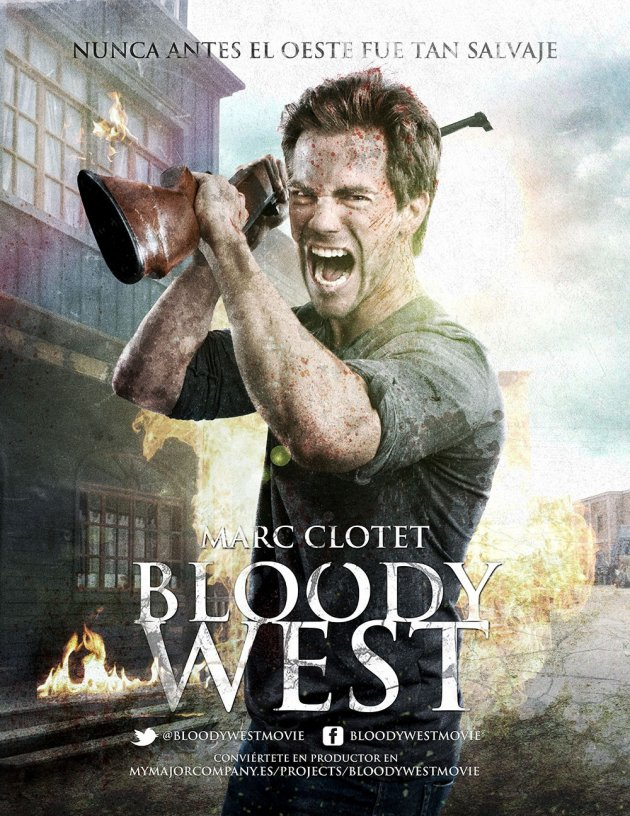 Bloody West Poster Marc Clotet