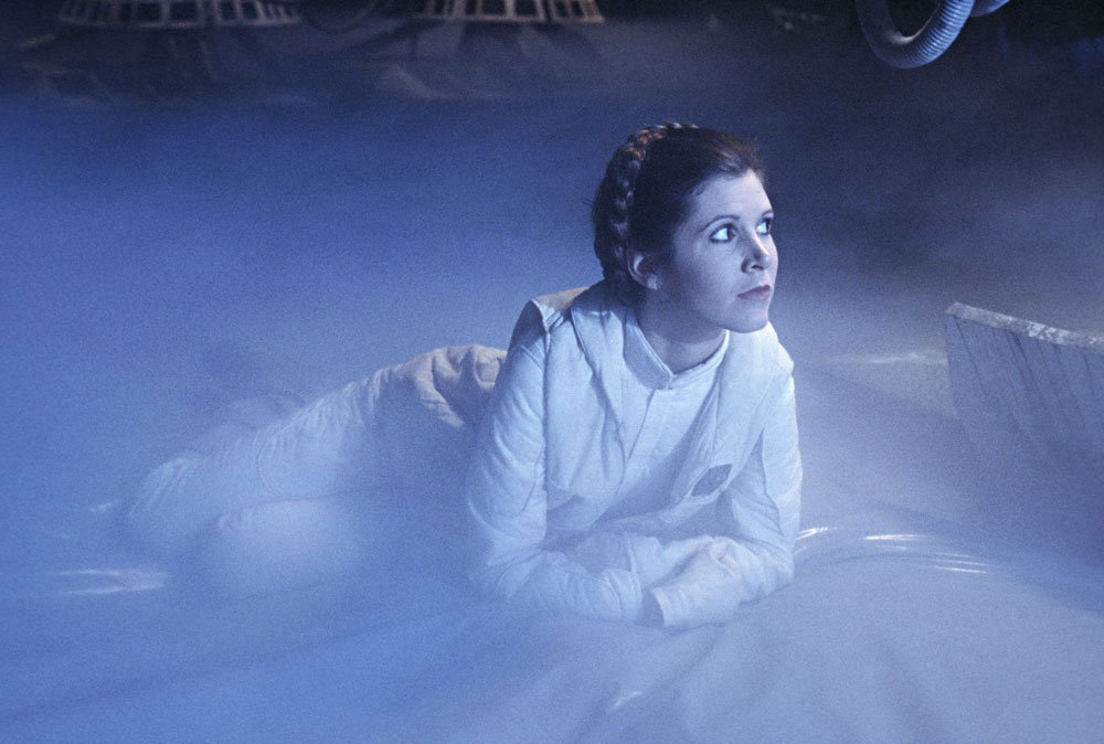 Carrie Fisher. Star Wars
