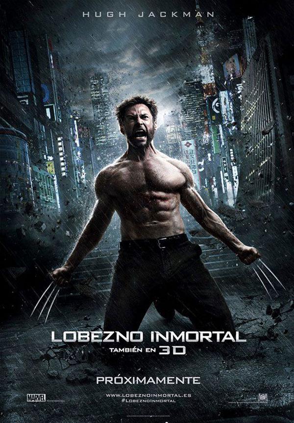 Lobezno Inmirtal Cartel España 20th Century Fox