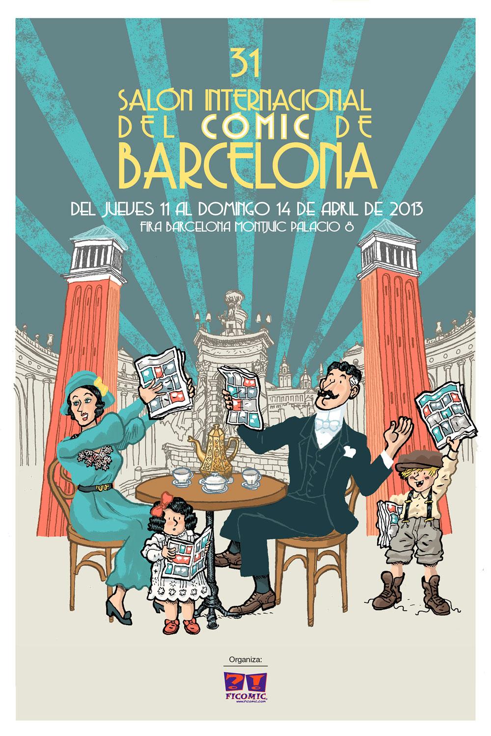 Salón del cómic de Barcelona 2013