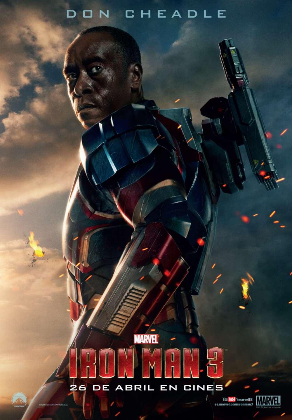 Iron Man 3. Iron Patriot