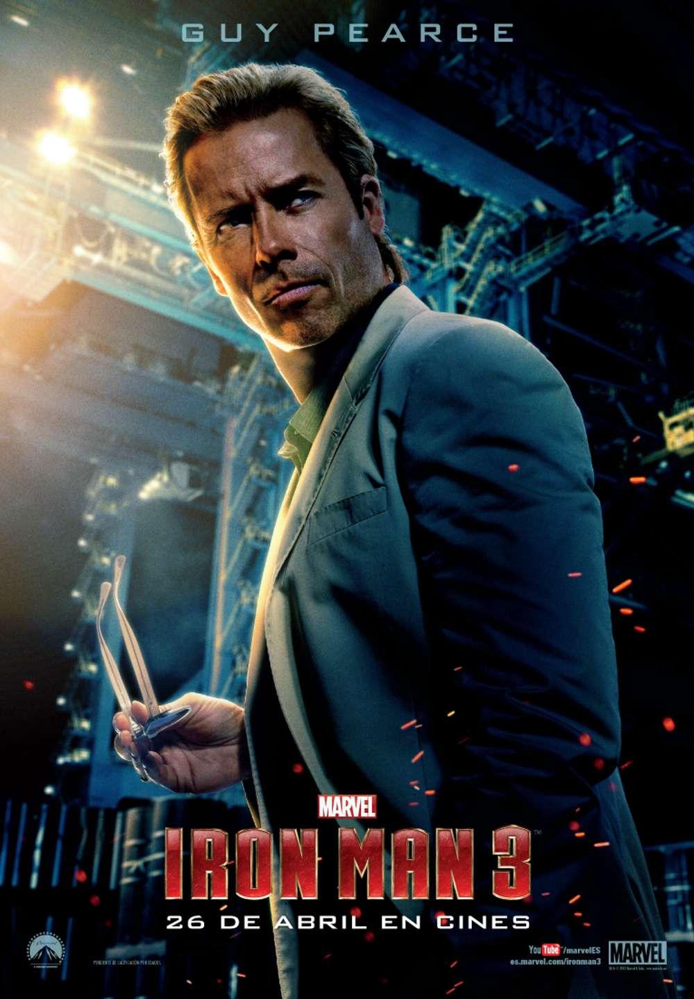 Iron Man 3 Killian