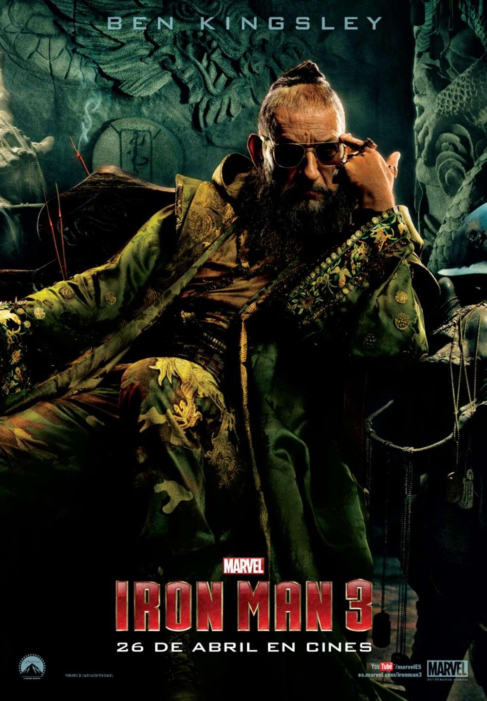 Iron Man 3. Mandarín