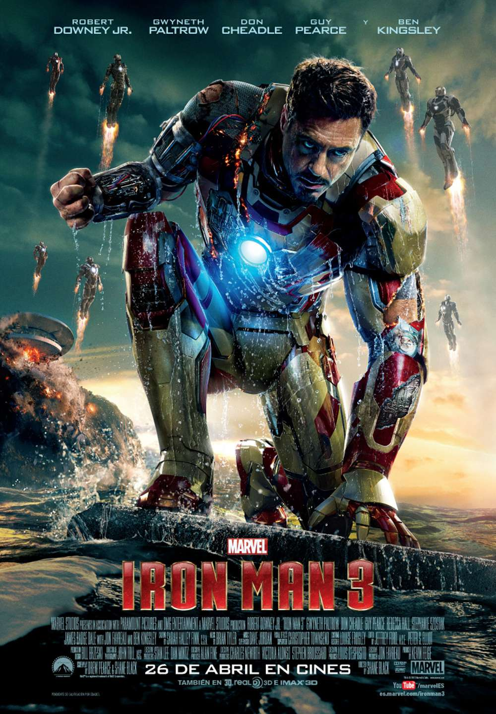 Iron Man 3. Poster Tony Stark