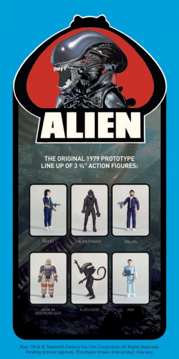 Alien figuras. Super7