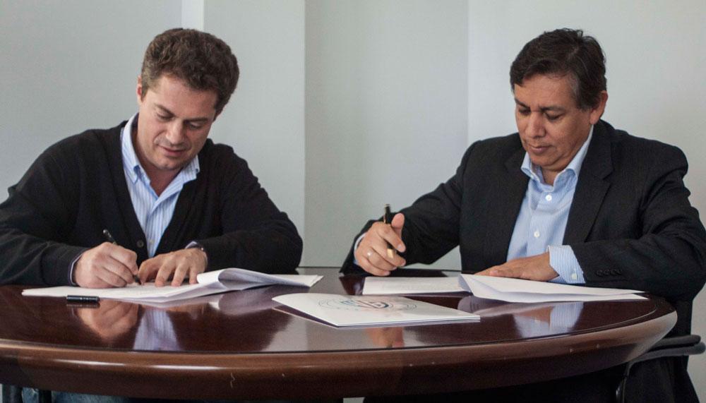 Gonzalo Salazar Simpson Director ECAM y Alberto Magaña CFO y VP Warner Bros Spain