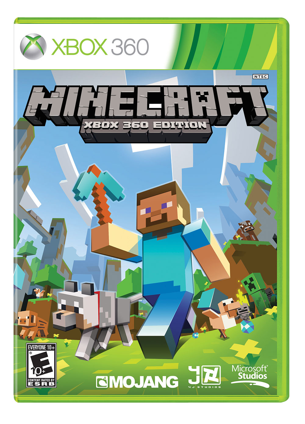 Caratula MineCraft Xbox 360 Edition