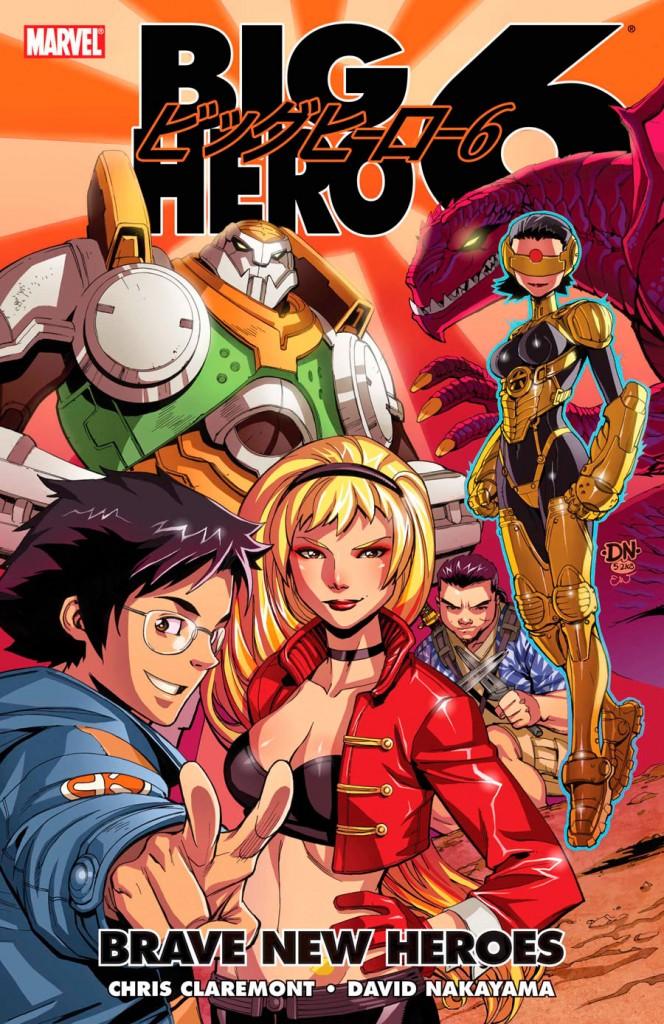 Big Hero 6 Comic