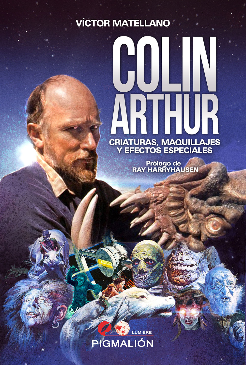 Colin Arthur. Criaturas, Maquillajes y efectos especiales