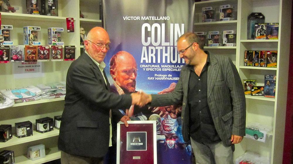 Colin Arthur y Víctor Matellano