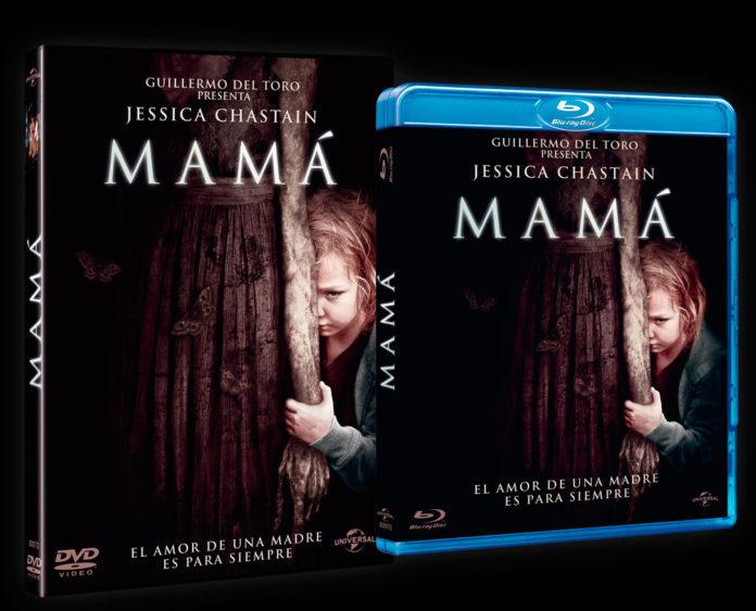 Mamá. Carátulas DVD y BD
