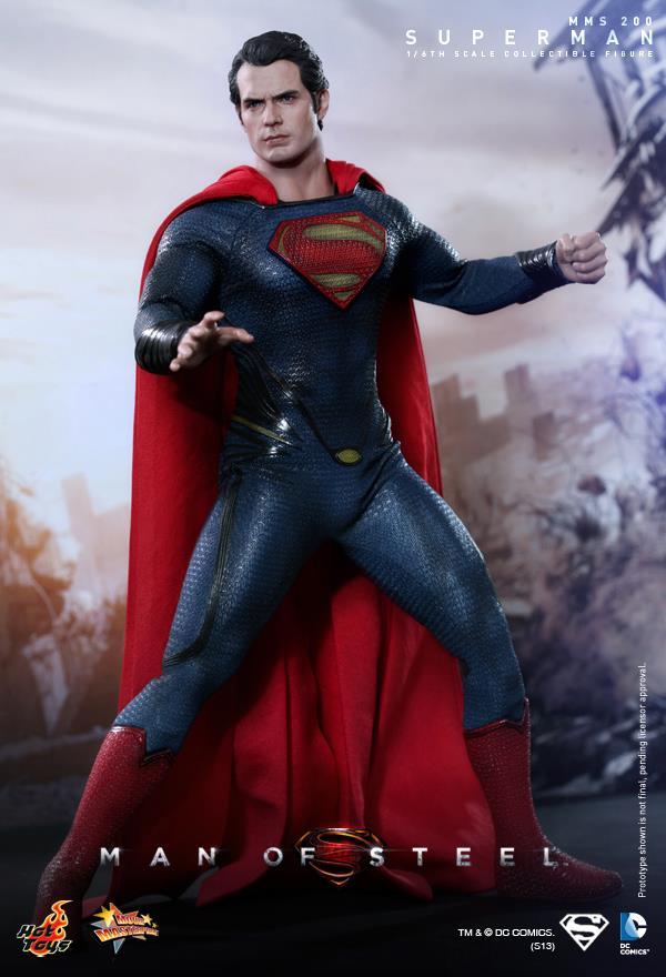 Hot Toys. Man of Steel. El hombre de Acero