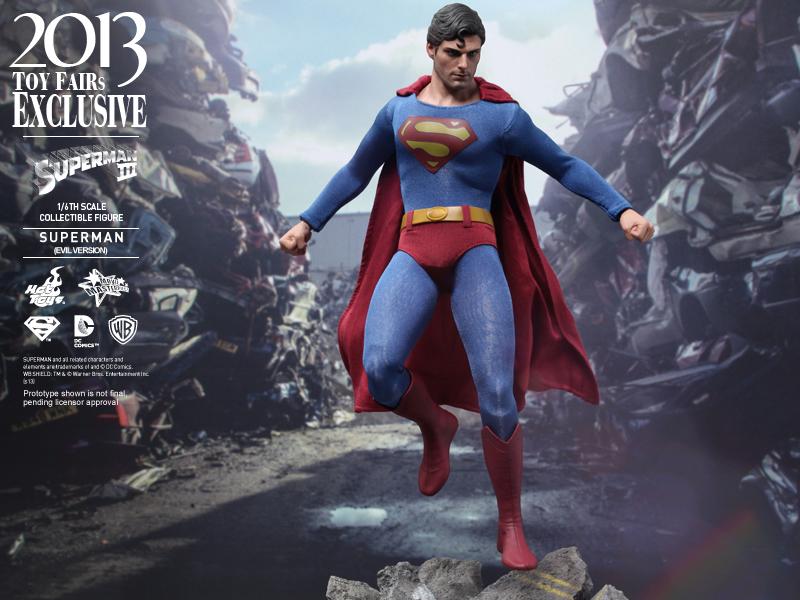 Mostrar Hot Toys - Superman III - Superman