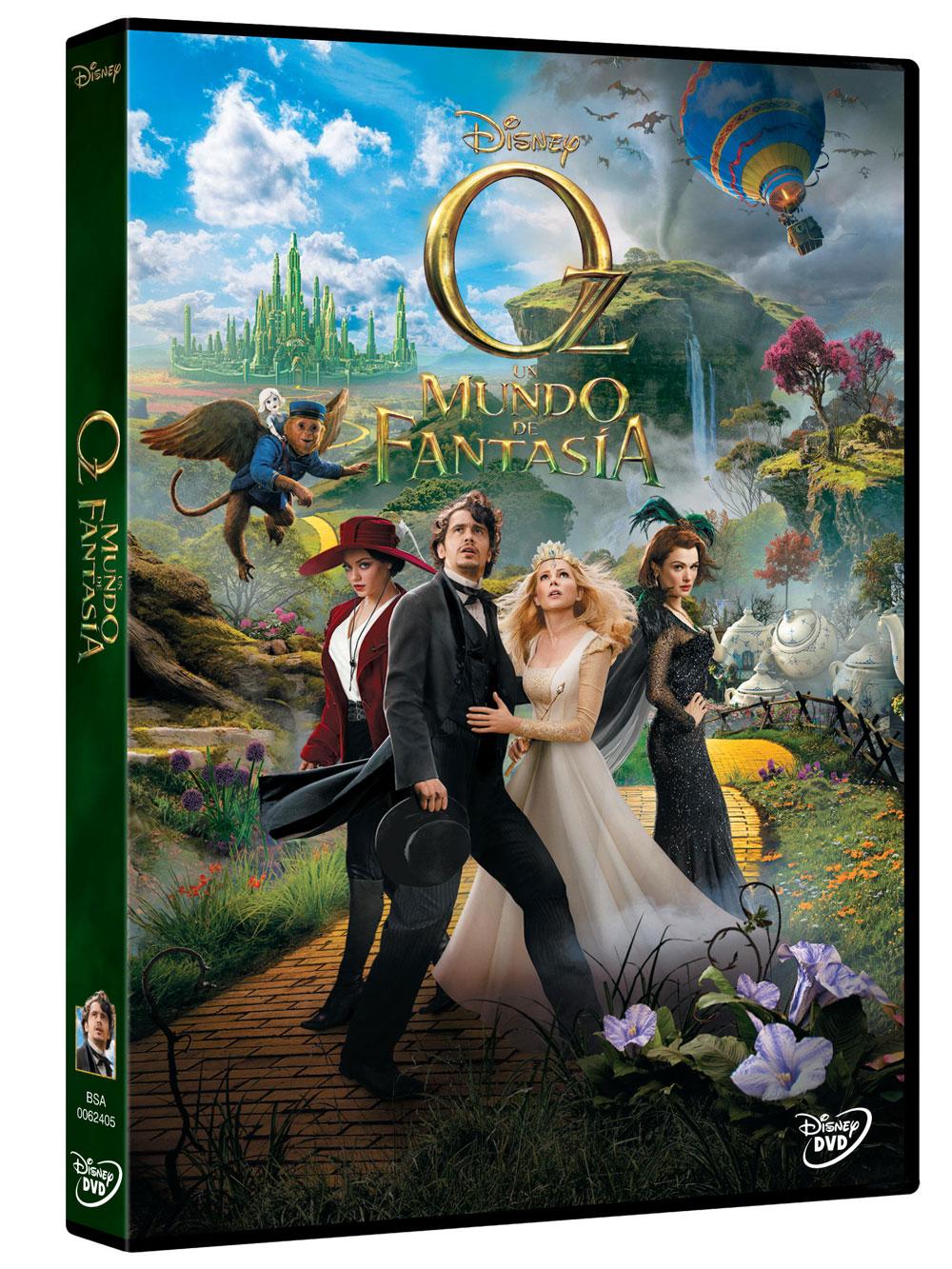 Oz,  Un mundo de fantasía DVD