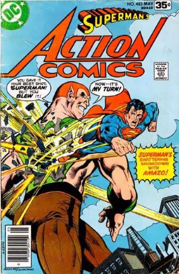 Superman Action Comics 483
