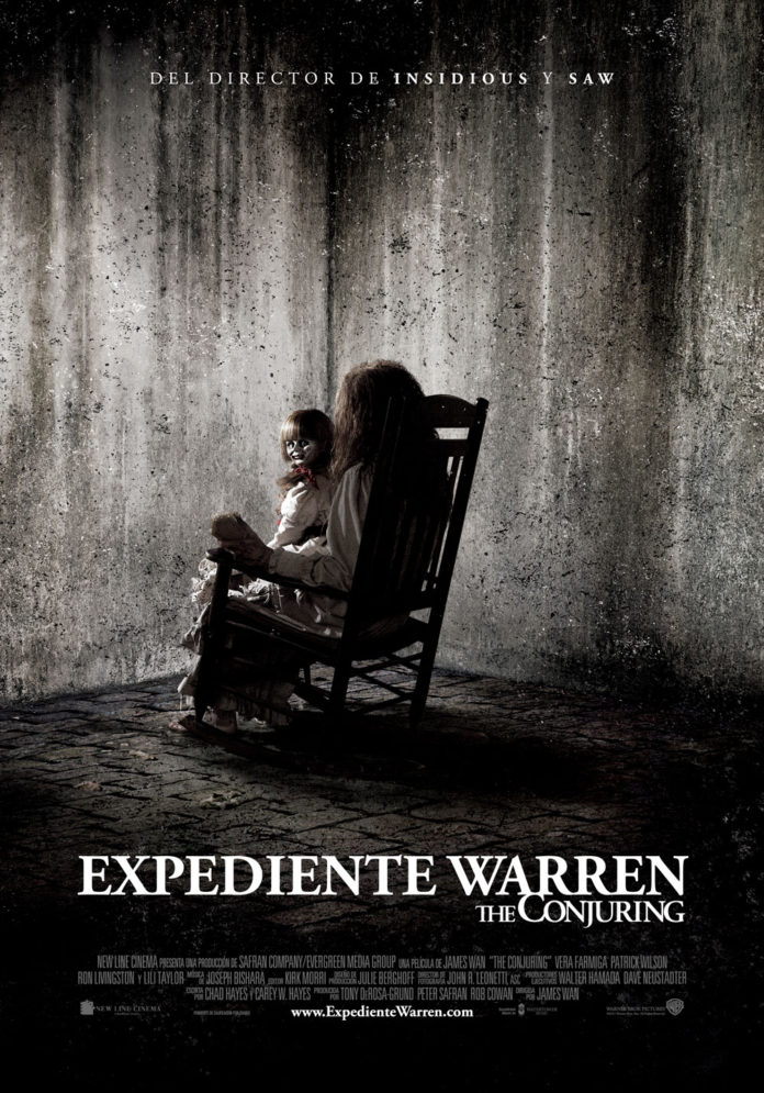 The Conjuring. Expediente Warren poster