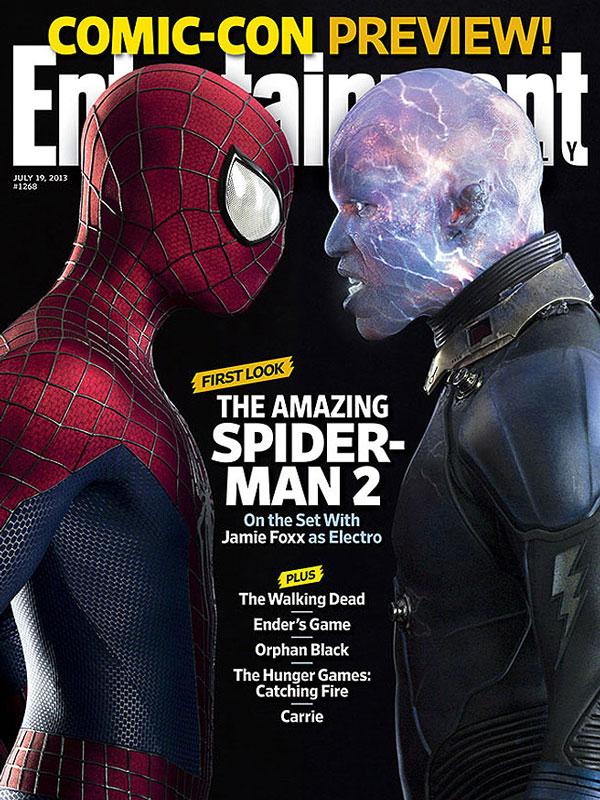 The Amazing Spiderman 2 en EW