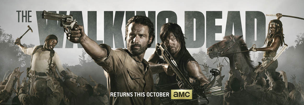 The Walking dead temporada 4 poster