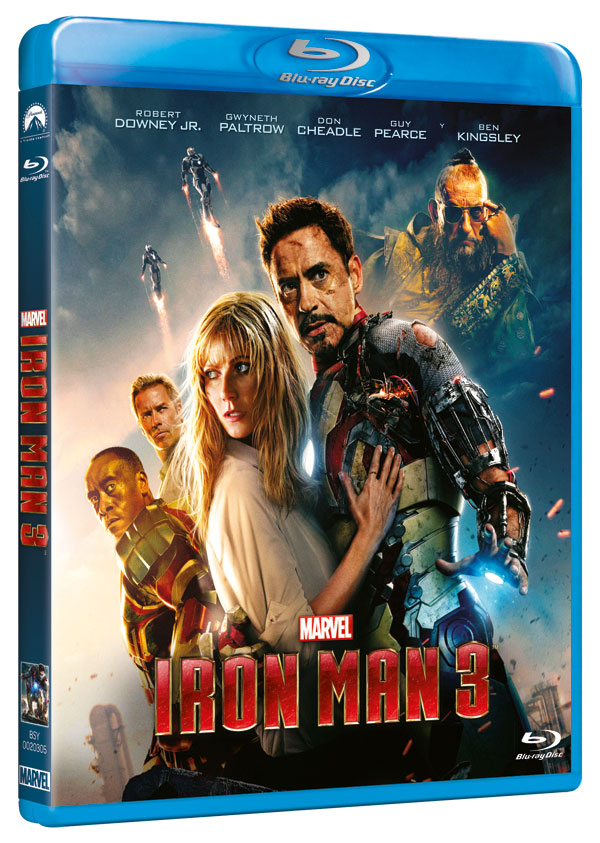 Iron Man 3 BD