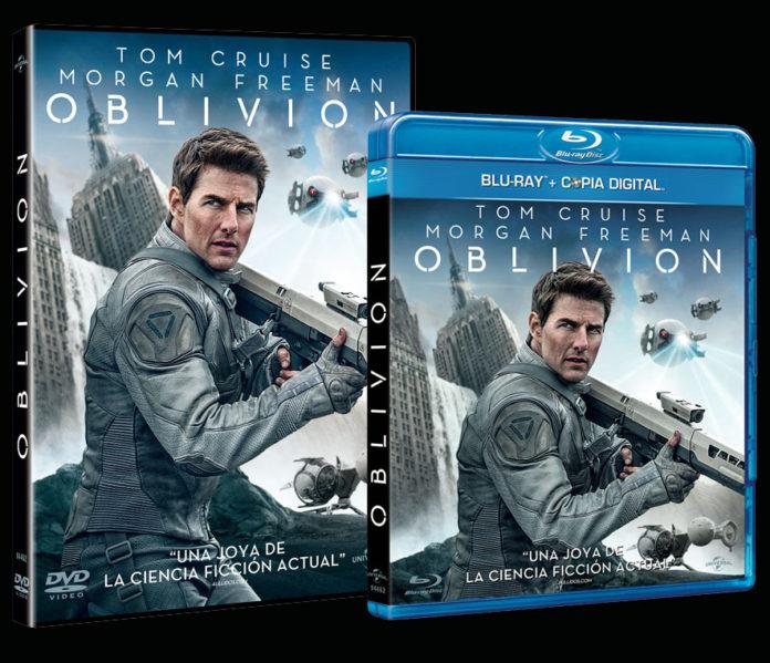 Oblivion en DVD y Blu Ray