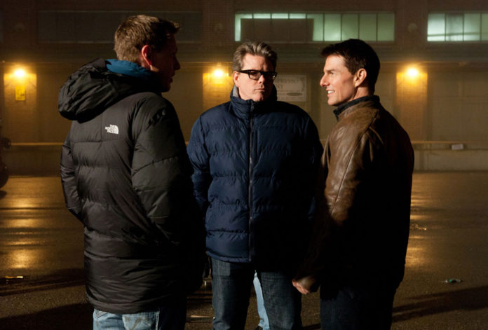 Tom Cruise y Christopher McQuarrie en Jack Reacher