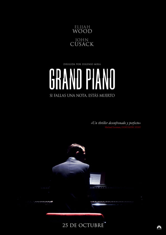 Grand Piano de Eugenio Mira con Elijah Wood. Nostromo Pictures