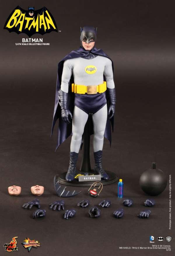 Hot Toys - Batman (1966) - Batman Collectible Figure escala 1:6