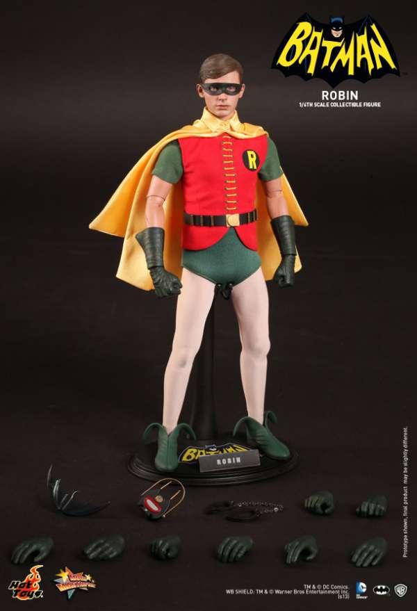 Hot Toys - Batman (1966) - Robin Collectible Figure. 1966. Burt Ward