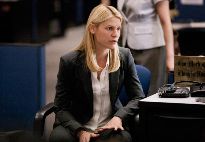 Claire Danes en la tercera temporada de Homeland