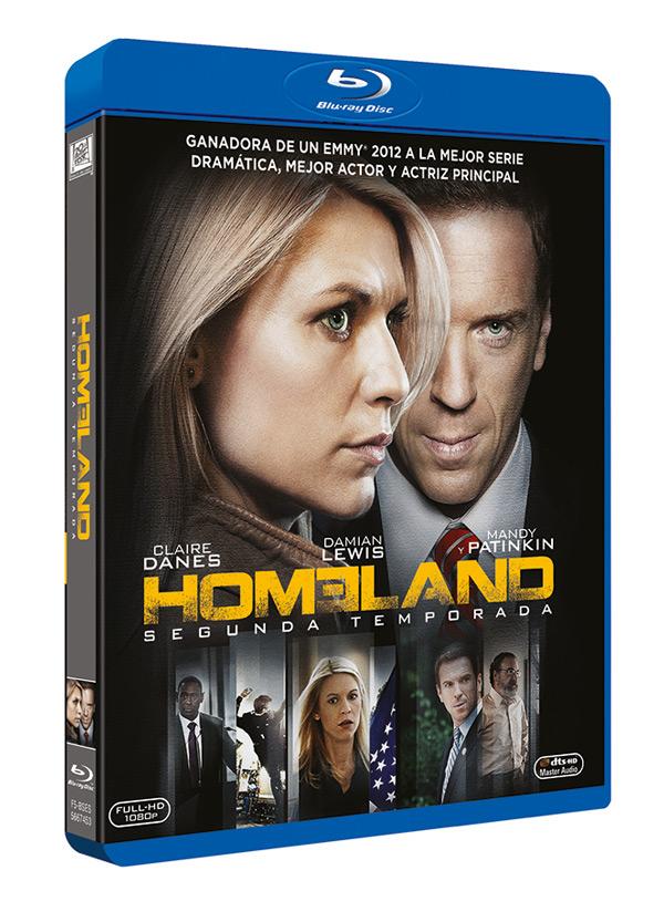 Homeland. Segunda Temporada en DVD