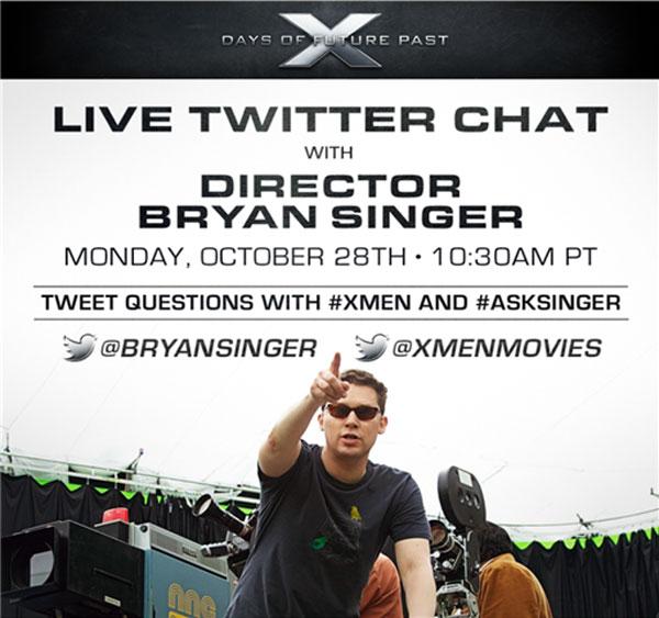 Twitter. Chat con Bryan Singer