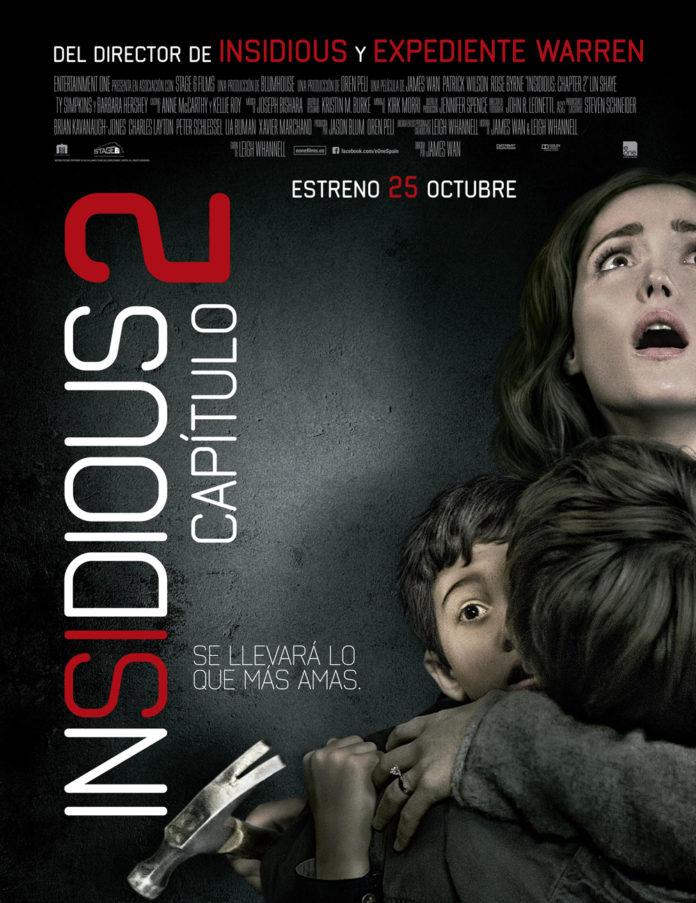 Insidious capítulo 2 poster