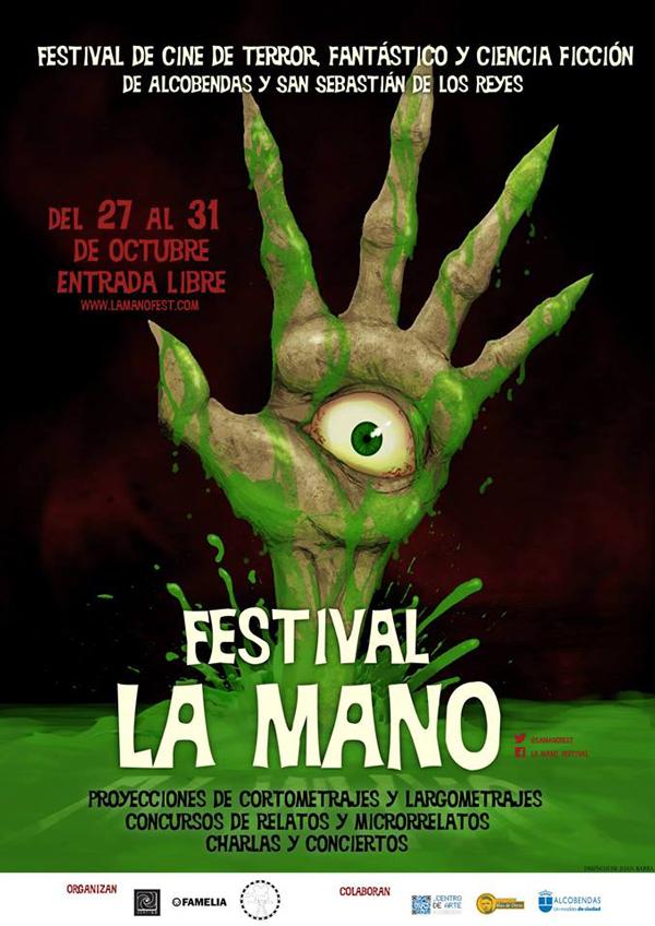 La mano. Festival de Cine fantástico y de terror Alcobendas y Sanse.
