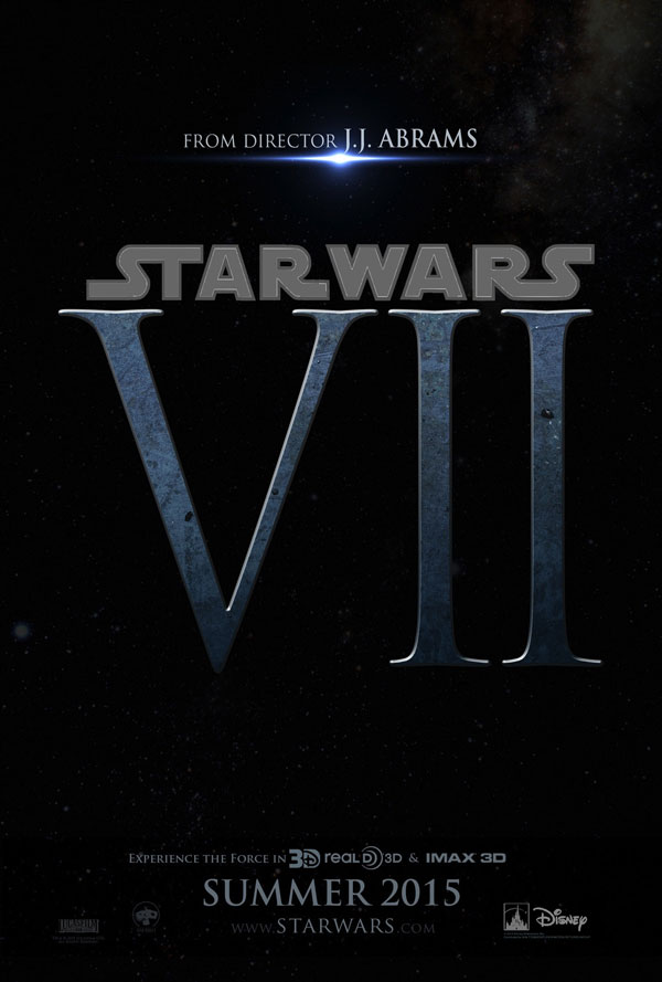 Star Wars: Episodio VII fan poster